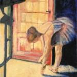 Ballerina maleri Finn Kalvik