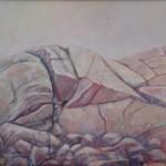 Varme svaberg maleri finn kalvik